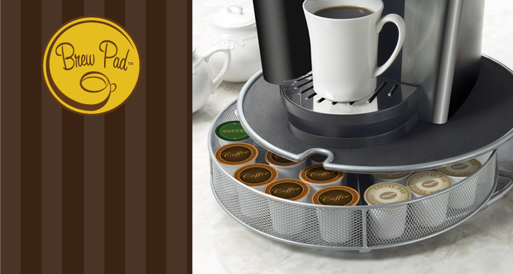 Brew Pad™, A Brand Of Creative Organization™, Offers Stylish Storage  Solutions For All Varieties Of Single Serve Coffee Pods. Whether Coffee,  Tea, Or Hot ...