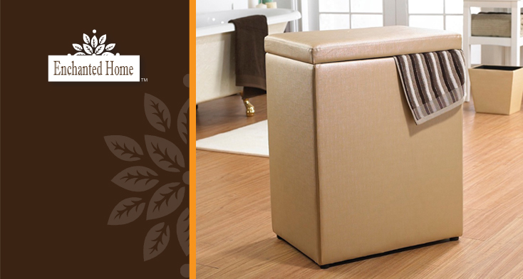 Enchanted Home™ is an exclusive collection of home furnishings that  beautifully organizes any bedroom, bathroom, closet or living area.